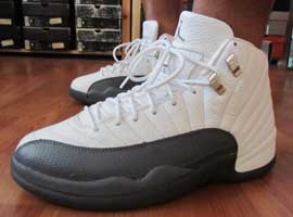 air jordan 12 retro white flint grey metallic silver