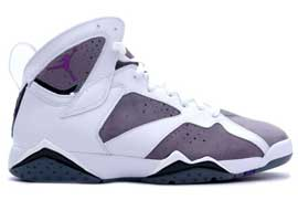 air jordan 7 retro white varsity purple flint grey