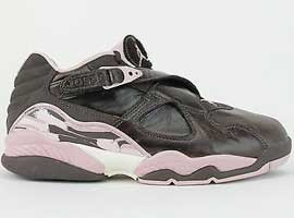 air jordan 8 retro womens low dark cinder champagne sail