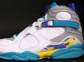 air jordan 8 retro womens white bright concord aqua