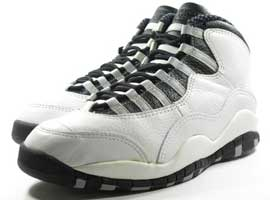 air jordan 10 steels white black light steel grey