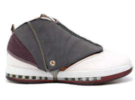 air jordan 16 og whisper cherrywood light graphite