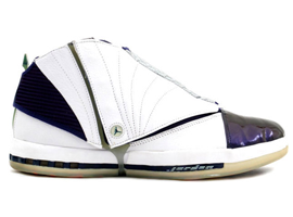 air jordan 16 og white midnight navy