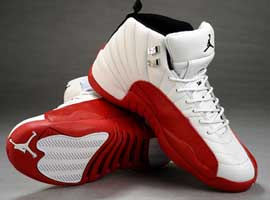 air jordan 12 og white varsity red black