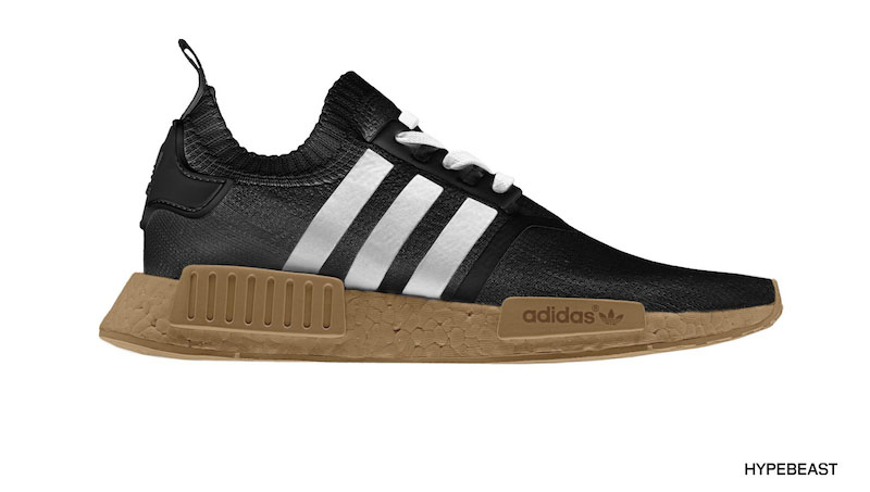 2 Colors Men's adidas NMD Runner R1 Casual Shoes