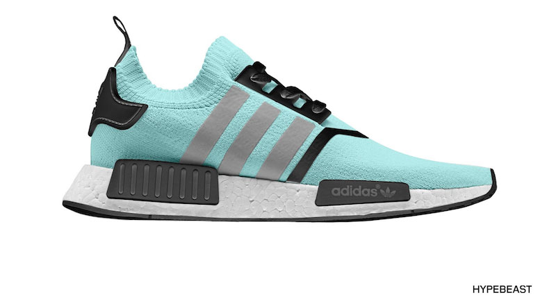 adidas nmd mint green customs