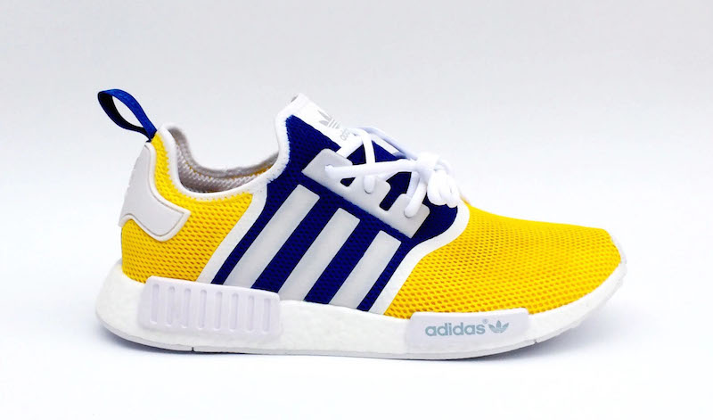 adidas NMD R1 Custom Golden State Warriors