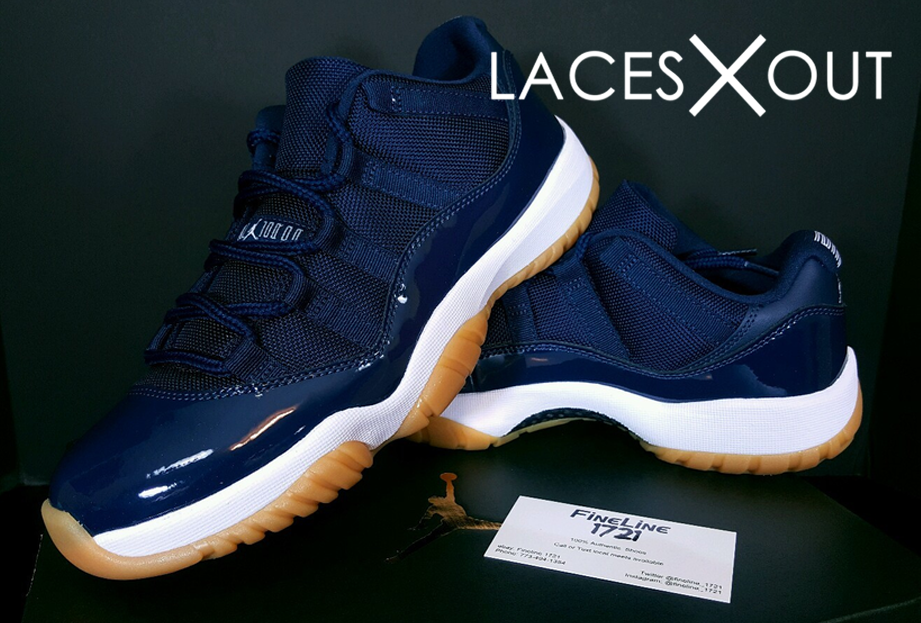 Air Jordan 11 Low Navy Gum Release Date June