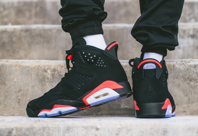 Air Jordan 6 on Feet