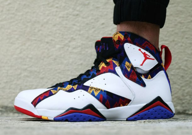 size 40 c1fdb 73529 Air Jordan 7 on Feet