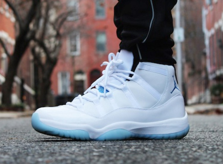 Nike Air Jordan 11 on Feet