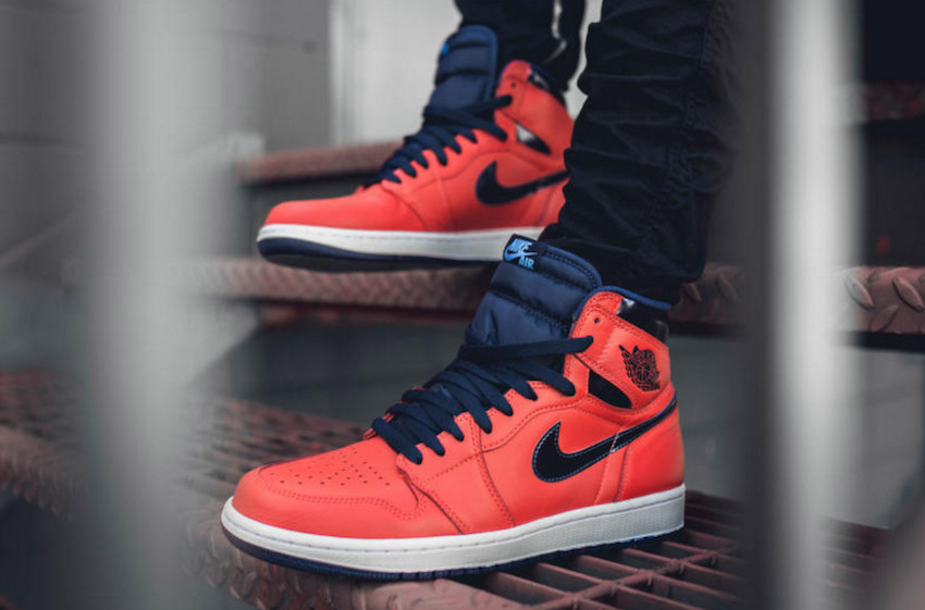 Nike Air Jordan 1 Mid On Feet
