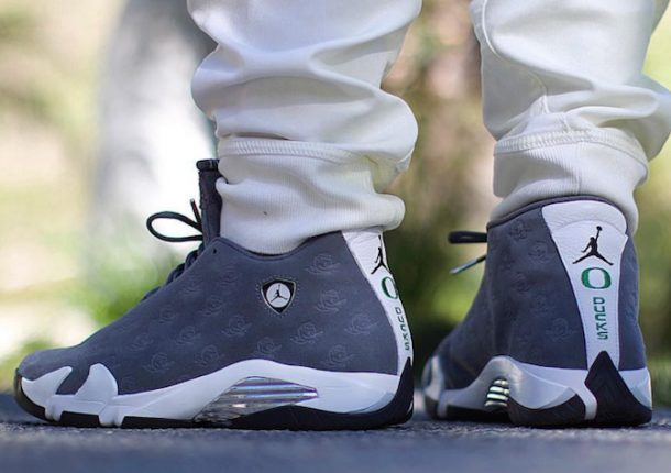 half off 56c8f 608d5 Nike Air Jordan 14 on Feet