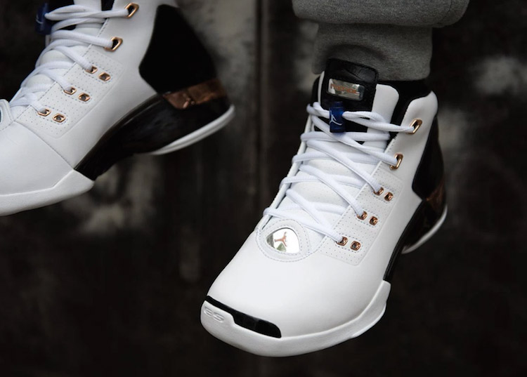 Nike Air Jordan 17 on Feet