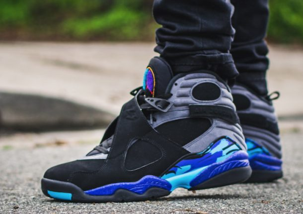 Nike Air Jordan 8 on Feet