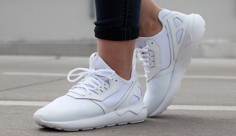 Womens Tubular All White