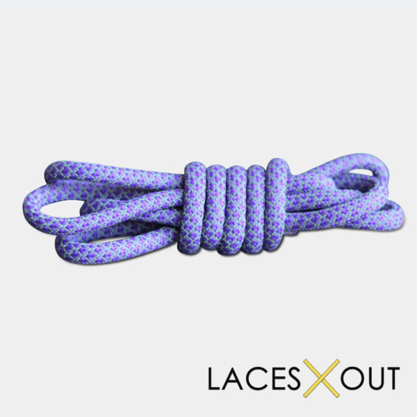 Purple 3m Rope Shoelaces