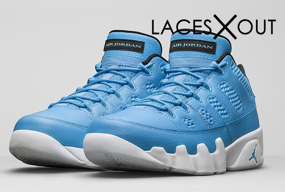 "Air Jordan 9 Retro Low ""University Blue"" Release Date"