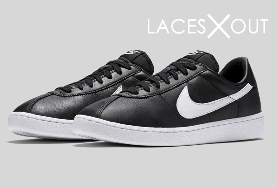 Nike Bruin Leather Black White Release Date