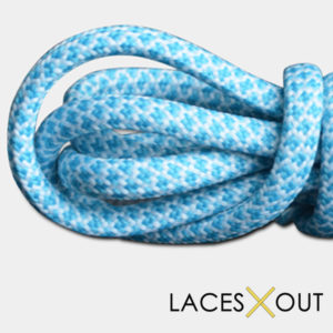 Baby Blue Rope Shoelaces