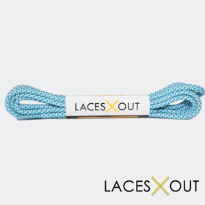 Baby Blue Shoelaces Front