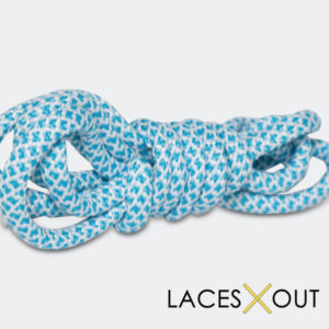 Baby Blue Shoelace Top