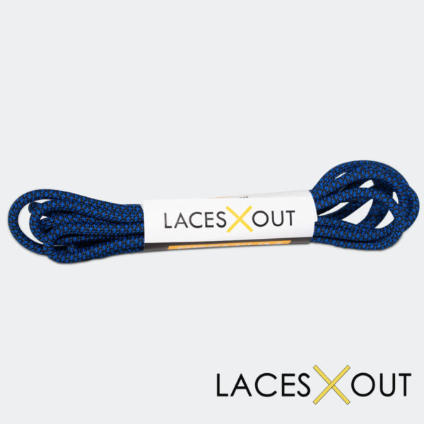Black Blue Rope Shoelaces Quality