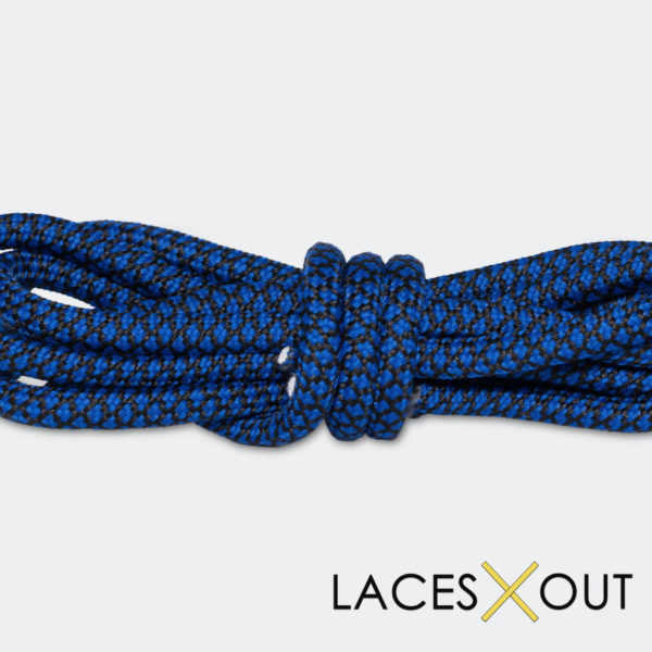 Black Blue Rope Shoelaces Cheap