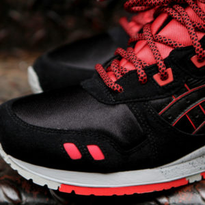 Red Black Rope Shoelaces Ronnie Fieg
