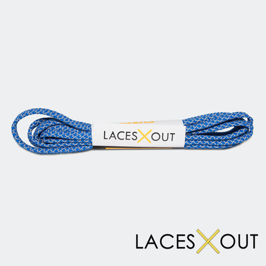 Blue 3M Shoelaces Cheap