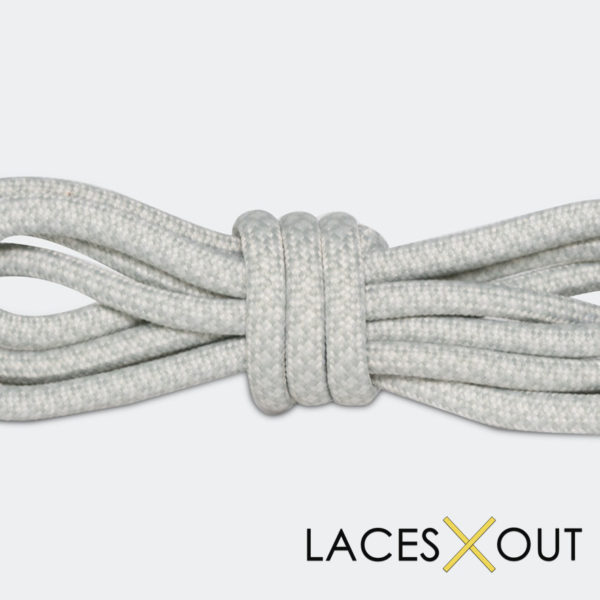 Light Grey Rope Sneaker Shoelaces Low Cost