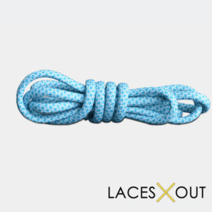 Light Blue Rope Shoelaces