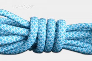 Baby Blue Rope Air Max Shoelaces