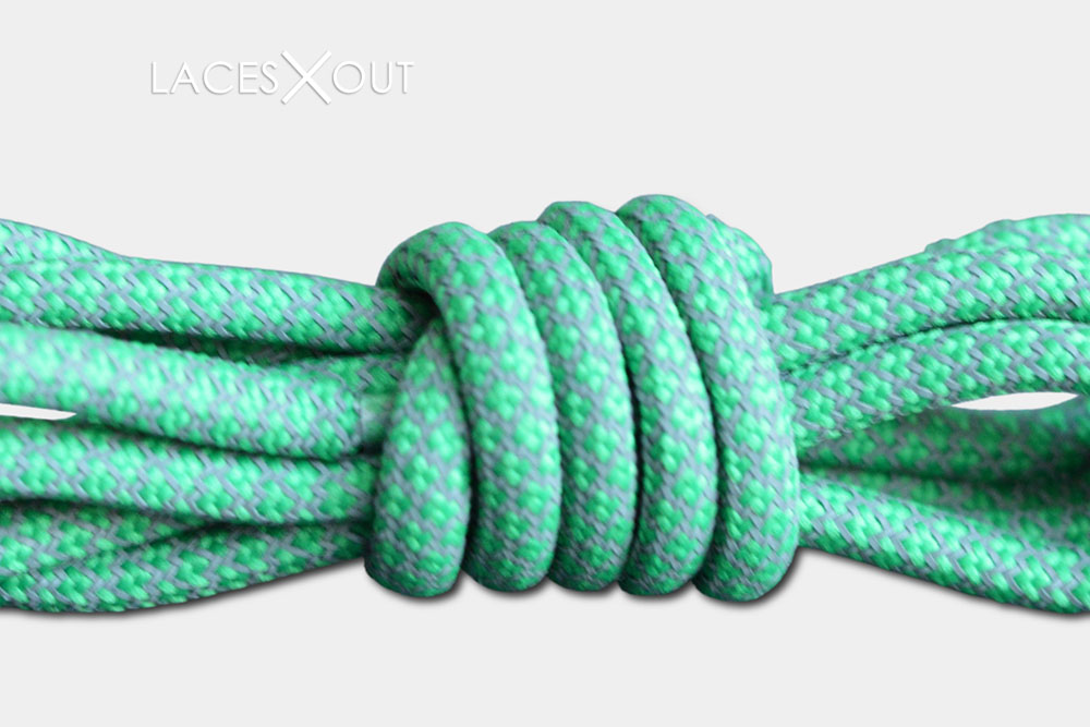 Mint Light Green Shoelaces