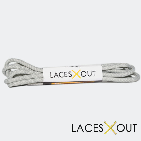 Light Grey Rope Sneaker Shoelaces Buy now