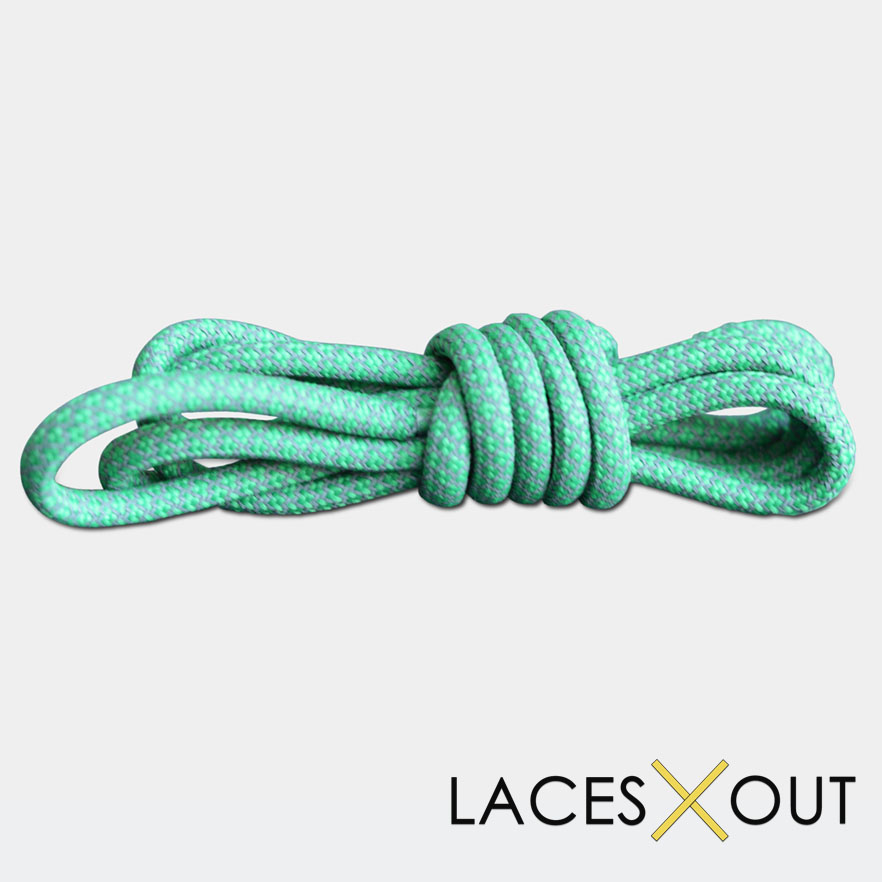 Mint Green Shoelaces
