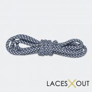Navy Blue Rope Shoelaces Quality