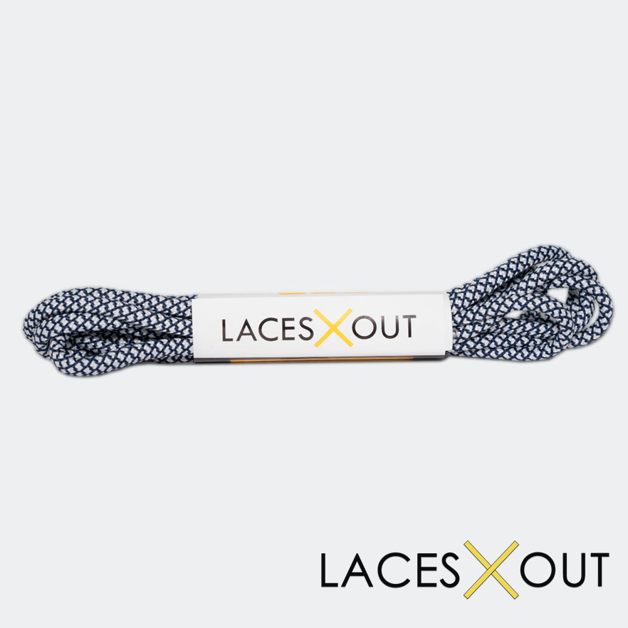 Navy Blue Rope Shoelaces Buy Now