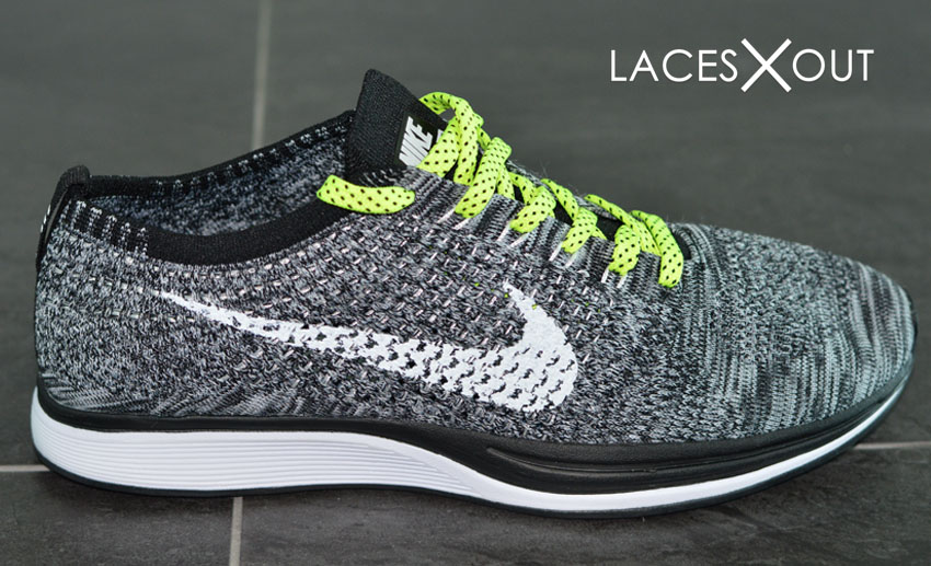 Nike Flyknit Neon Shoelaces