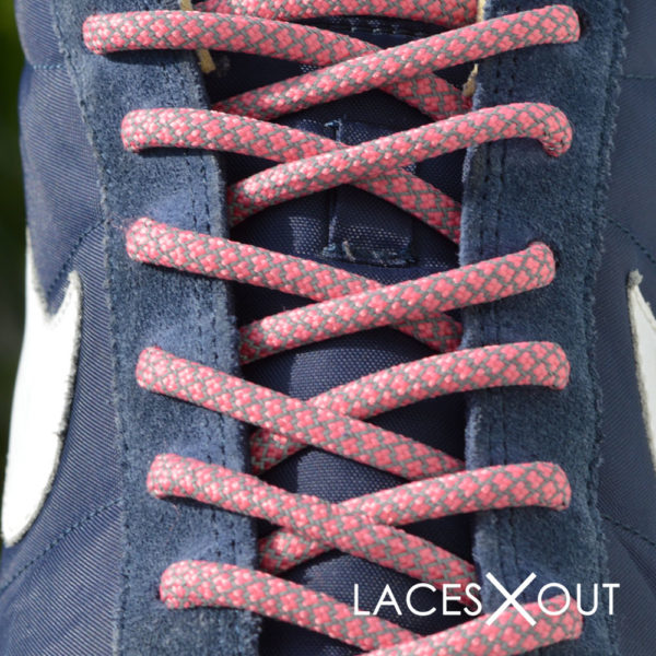 Peach Rope Shoelaces