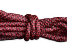 red-black-checkers-shoelaces-rope