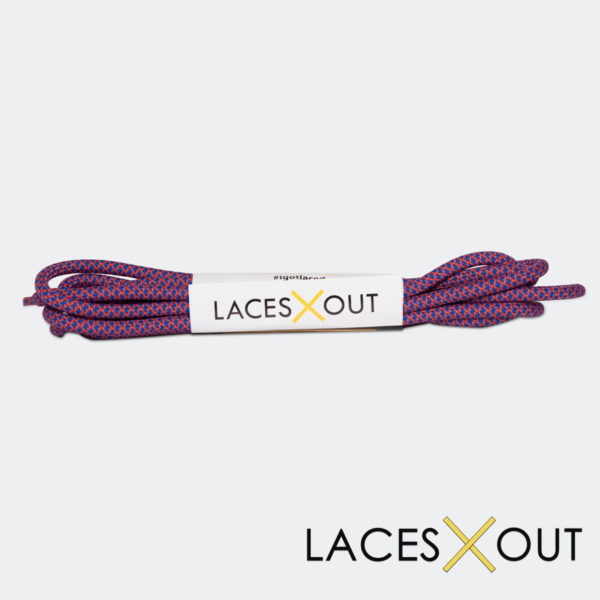 Red and Blue Rope Shoelaces SHop