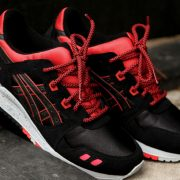 Red Black Rope Shoelaces