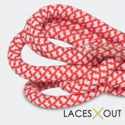 Red Rope Shoelaces Sneakers