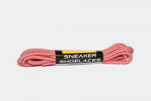 Red Rope Shoelaces Product