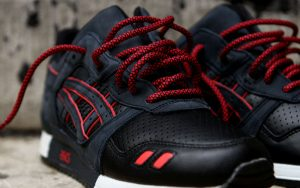 "RONNIE FIEG X ASICS ""TOTAL ECLIPSE/LEATHER TOES"" GEL LYTE III"