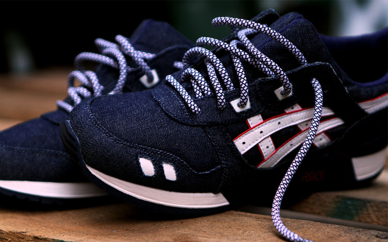 Ronnie Fieg Asics Shoelaces