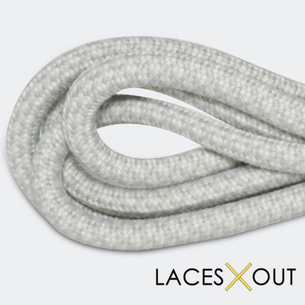 Light Grey Rope Sneaker Shoelaces High Quality