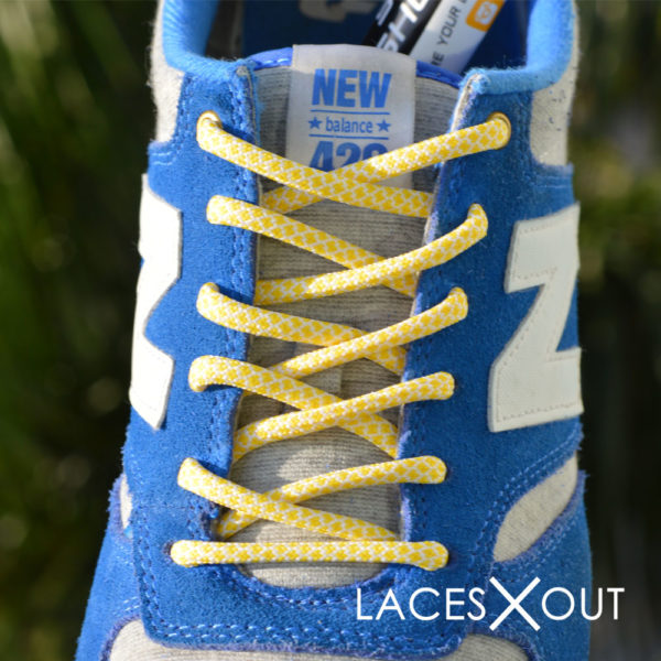 new balance blue shoelaces