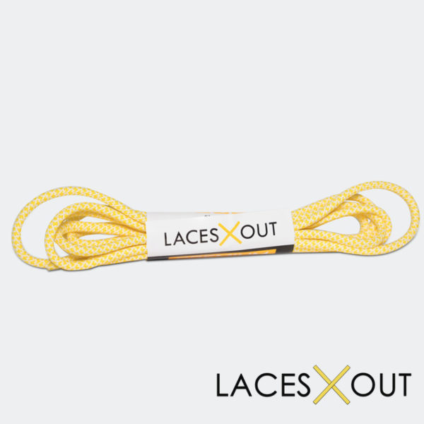 Yellow Rope Shoelaces